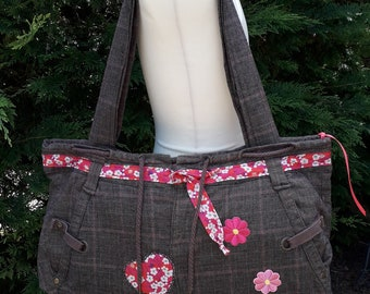 Recycled fashion handbag