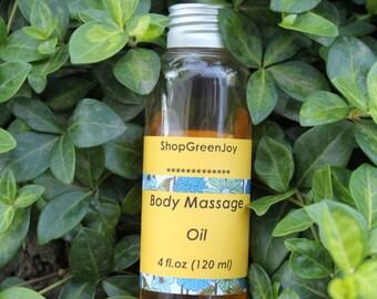 Organic Body Massage Oil Body oil Massage oil Organic oil Vegan Massage Oil Natural massage oil SPA massage oil Relaxing massage oil Massage