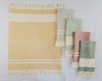 Hand Woven Tea Towels