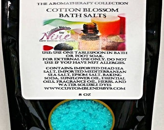 Bubbling Bath Salts 8 oz