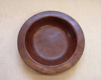Vintage Red Gum Wooden Bowl from Australia