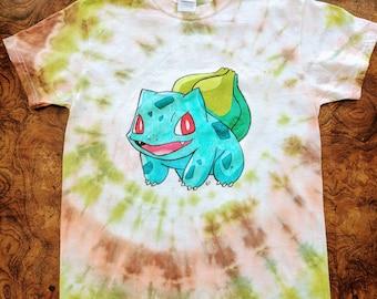 Bulbasaur Tie Dye Shirt