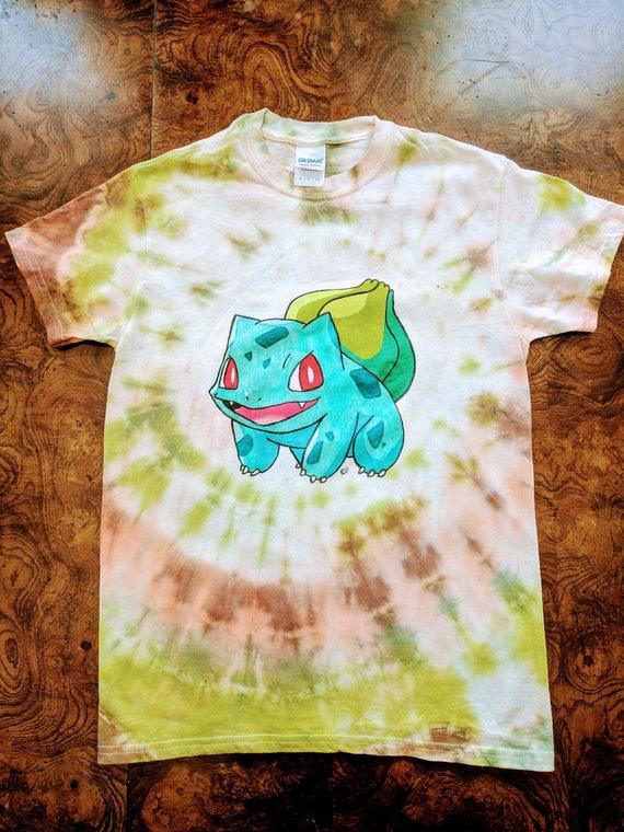 Bulbasaur Tie Dye Shirt ezbYjU