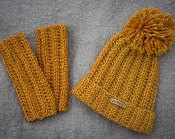 Pattern Set: Shawna Wristers and Hat