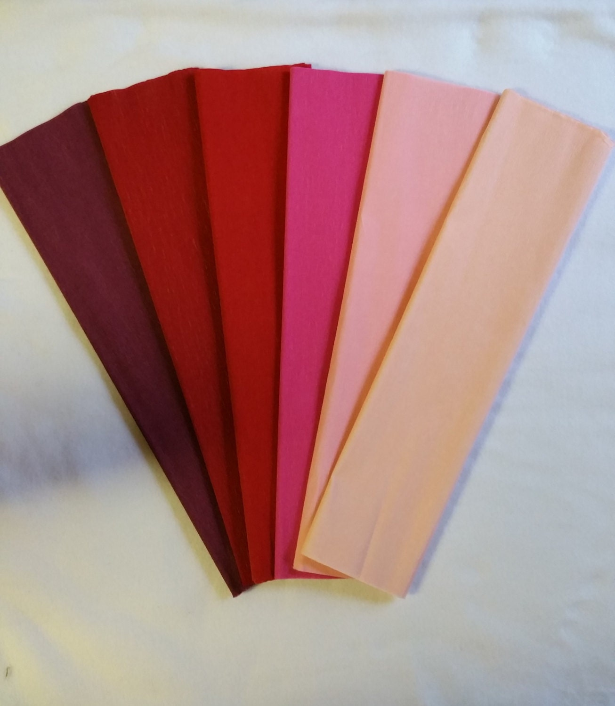 Blush Pink Crepe Paper Dennison Crepe Paper Crepe Paper Paper