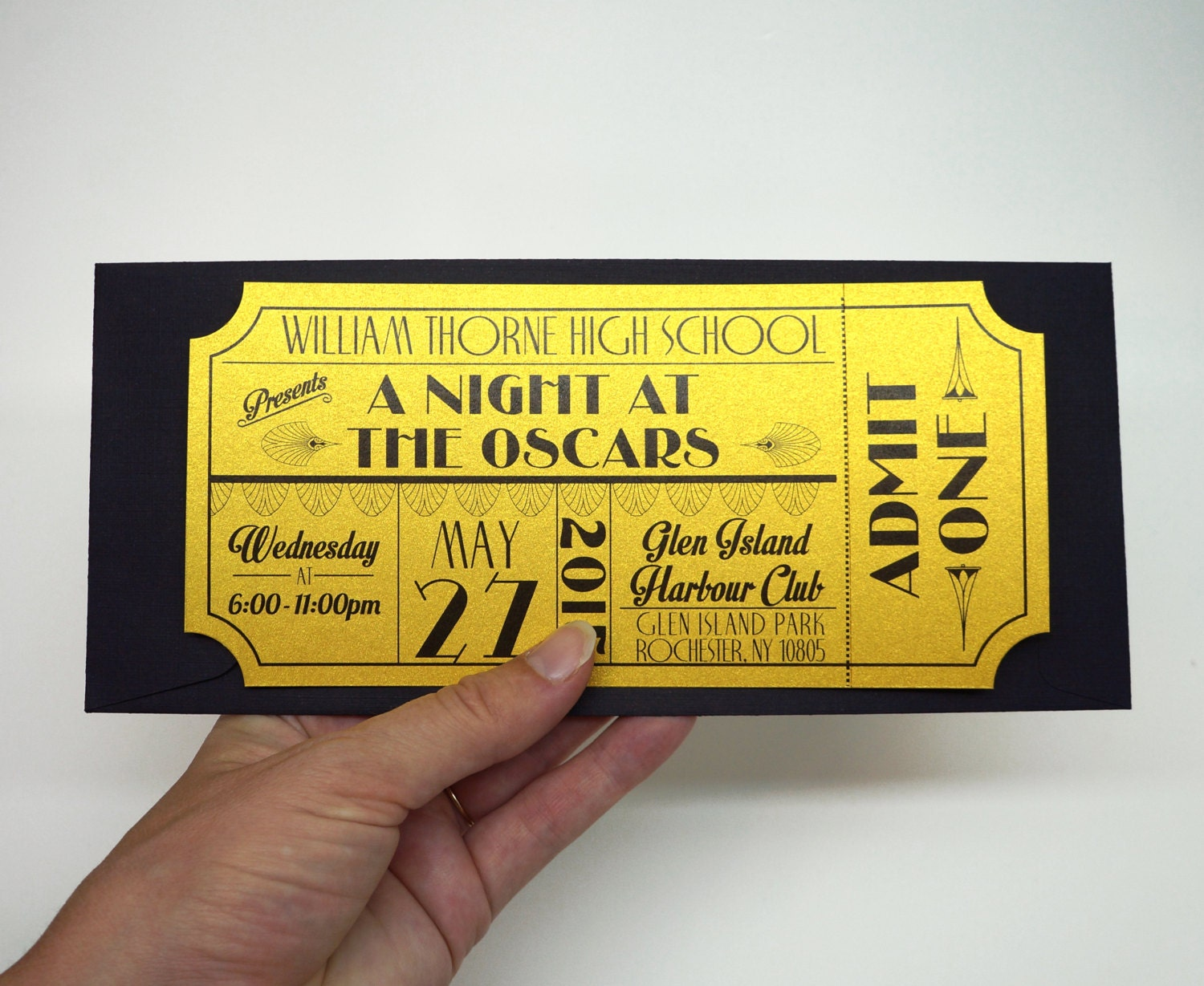 Amazing 🔎zoom To Prom Ticket Template