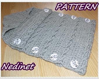 Crochet PATTERN, Crochet Baby Sleeping Bags PATTERN, Baby Cocoon Crochet Pattern, 0-6 months Baby Bags Pattern, Instant Download pdf pattern
