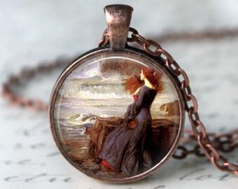 Miranda The Tempest • Shakespeare • John William Waterhouse • Pre Raphaelites • Famous Art • Literary Gifts • Medieval Jewelry • Art Jewelry