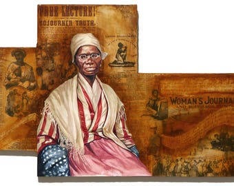 Sojourner Truth Fine Art Print