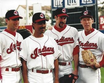 Charlie Nagy Martinez,Jack McDowell Hersheiser Cleveland Indians 1990's 8x10 photo