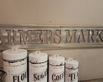 Farmers Market | Metal Sign
