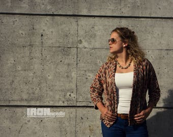 """Sewing pattern for """"Cardison"""" blouson / cardigan sizes 34-48 – regular and tall sizes !"""