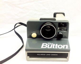Polaroid The Button SX-70 Instant Camera