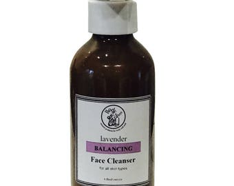Balancing Facial Cleanser with Lavender