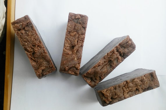 Chocolate Coconut Soap - Organic Cocoa & Coconut Oil Mild Face and Body Soap, Luxurious and Bubbly