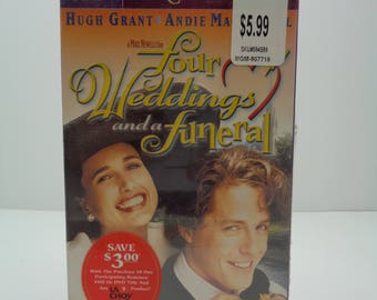 Four weddings and a funeral VHS Tape