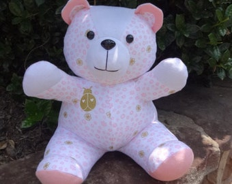 MINI Memory Bear / Keepsake Bear from an Adult Shirt or Baby Clothes **PLEASE Read the Item Details for Information Needed for Ordering**