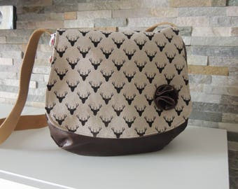 Hobo Crossbody faux chocolate