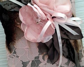 Handmade Wedding Lace Ring Bearer Pillow