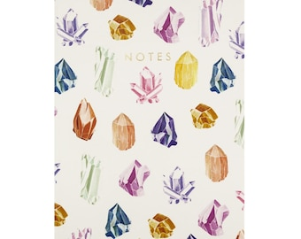 Central 23 Crystals Notebook