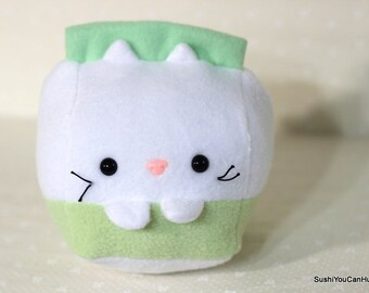 Soy Milk Kitty Cat Carton plush- Ready to ship!