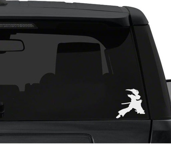 Himura kenshin battou jutsu anime decal for cars windows