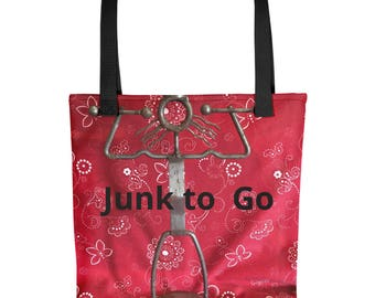 Junk to Go Tote bag