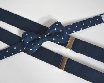 suspenders and bow ties for boys,suspenders and bow tie set for kids,navy blue suspenders and bow ties