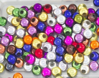 Bag of pearls magic multicolored 6mm round