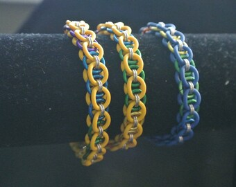 rainbow helm bracelets