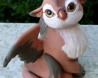 Ibis - Gryphon Myxie Pal Sculpture