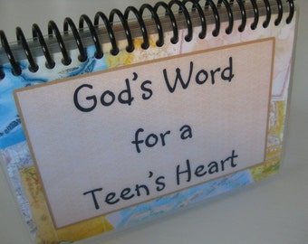 God's Word for a Teen's Heart, Spiral-Bound, Laminated Bible Verse Cards