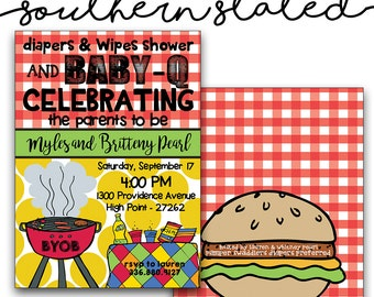 Baby Shower Cookout