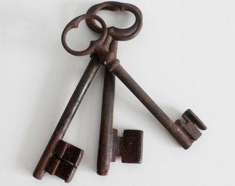 Skeleton Key Antique, Skeleton Key Christmas Ornament, Skeleton Key Decor, Skeleton Key Large, Skeleton Key housewarming, Skeleton Key Set
