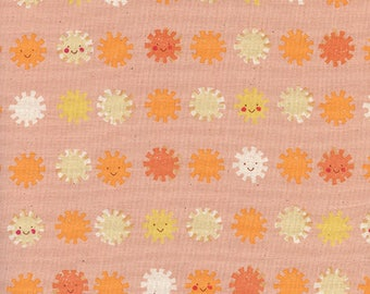 Sunshine by Alexia Abegg for Cotton & Steel - Sushine - Peach - 1/2 Yard Cotton Quilt Fabric