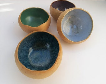 Ceramic Bowl, Handmade Organic Bowls, Serving Bowls, Small Ceramic Bowls, Stoneware Dipping Bowls, Handmade Pottery, Gift For Mom