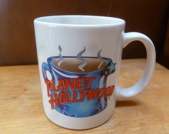 Vintage Planet Hollywood mug