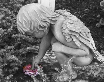 """A Little Angel 8""""x10"""""""