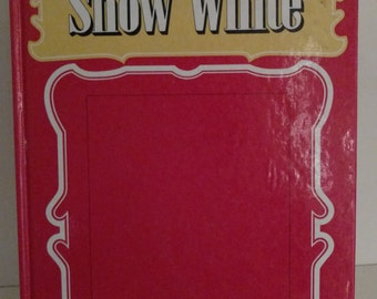 Giant 3-D Fairytale Books -Snow white - puppet book