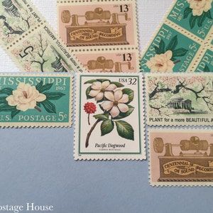Something Old   Vintage Stamps   Unused Postage Stamps   For 5 Letters   55 Cents