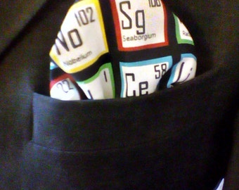 Periodic Table Pocket Square