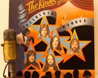 """The Kinks Vinyl Record Album LP 1960s British Classic Rock and Roll """"The Kinks Greatest: Celluloid Heroes"""" (1981 Rca re-issue w/""""Holiday"""")"""