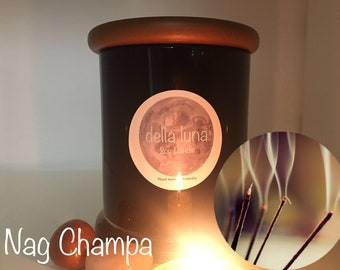 Nag Champa Hand Made Soy Candle