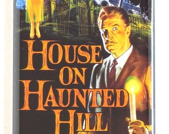 House on Haunted Hill Movie Poster Fridge Magnet (1.5 x 4.5 inches)