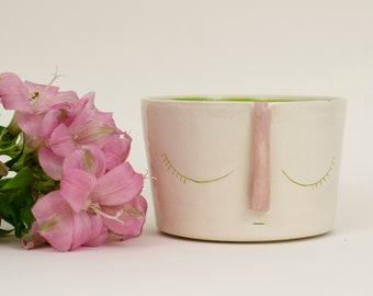 Ceramic Flowerpot-Miss Naps