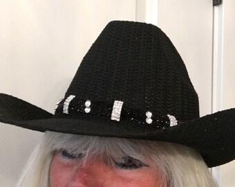 Swarovski Crystal/Rhinestone Cowboy Hat Band