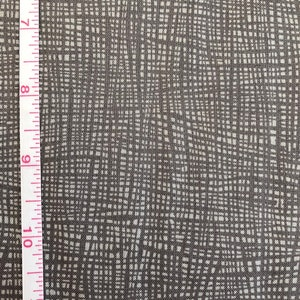 Musings in Charcoal Grid by Valorie Wells for Robert Kaufman Fabrics