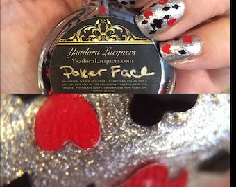 Poker Face - Vegas Themed Nail Polish - Now in Holo Chrome!