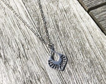 Necklace Mint with sterling silver