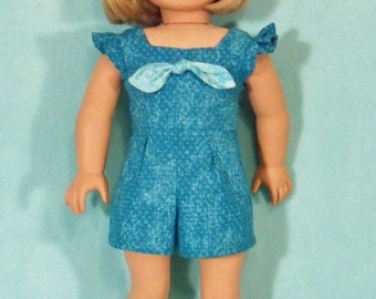18 inch Doll Romper and Optional Shoes